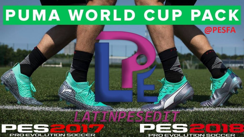 کفش PUMA World Cup Illuminate توسط LPE برای PES 2017/18