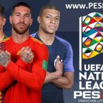 مود UEFA Nations League Mod برای PES 2017