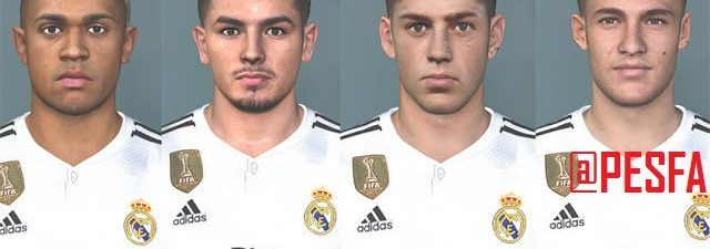 فیس پک Real Madrid Youngster برای PES 2017