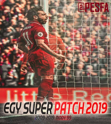 پچ EGY Super Patch 2019 v4.0 برای PES 2019