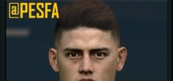 فیس James Rodríguez توسط Sameh Momen برای PES 2017