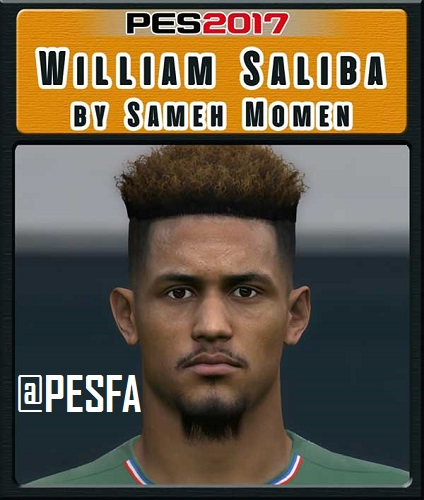 فیس William Saliba توسط Sameh Momen برای PES 2017