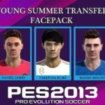 فیس پک Young Summer Transfer توسط Aluel برای PES 2013