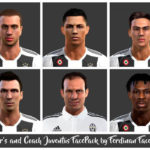 فیس پک Striker's Juventus توسط Ferdinan برای PES 2013