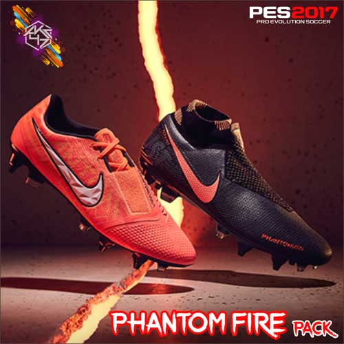 کفش Nike Phantom Fire Pack توسط AK برای PES 2017
