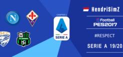 تابلو تبلیغاتی فصل 2019/2020 سری آ توسط Hendri SimZ برای PES 2017 تابلو تبلیغاتی فصل 2019/2020 سری آ توسط Hendri SimZ برای PES 2017