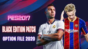 دانلود پچ Black Edition فصل 2020/2021 برای PES 2017