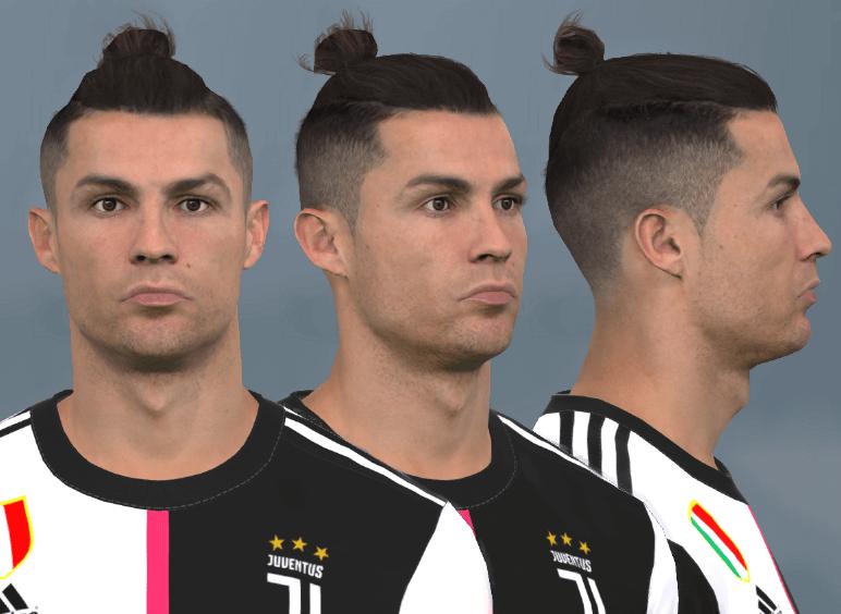 فیس Cristiano Ronaldo توسط WER برای PES 2017